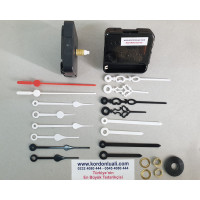 Saat Makinesi Askısız Akar Şaft 14 mm Plastik Akrep Yelkovan 100 Ad